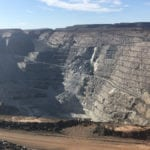 Kalgoorlie Super Pit rock fall threatens jobs