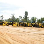 Komatsu unveils record number of machines in the Hunter