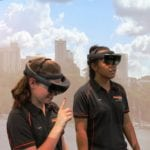 Simulated mine site to promote engineering careers to students