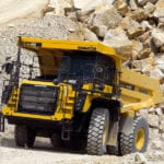 Komatsu updates low-emission engines for two trucks
