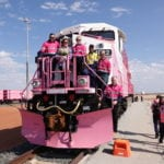 Roy Hill paints the Pilbara pink
