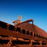 Iron ore price hit by biggest monthly drop in eight years