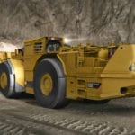 Caterpillar underground loader impresses during trials