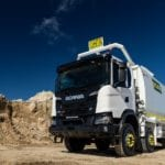 Australia's first Scania XT trucks head to the Pilbara