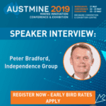 Independence Group CEO talks technology at Austmine 2019