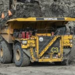 Cat 797F mining truck passes the emissions test