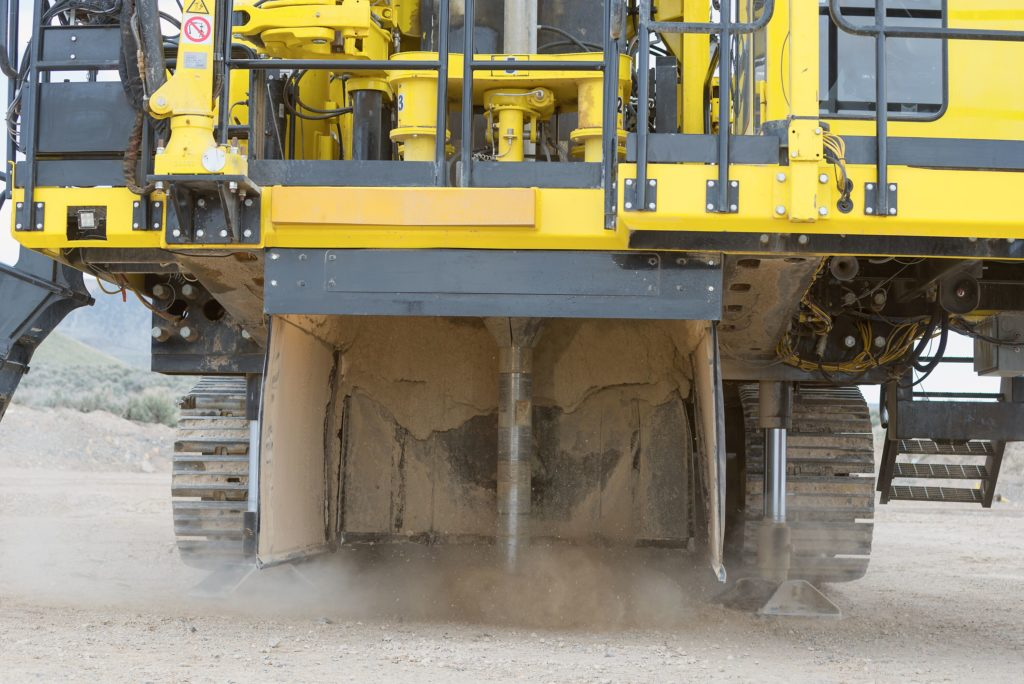Komatsu P&H surface drill makes for safer operation through