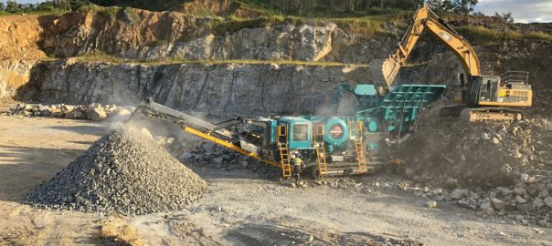 Jaw crusher becomes fifth Powerscreen machine delivered to