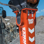 Rammer rockbreakers increase productivity and lower lifetime costs