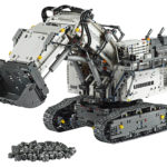LEGO unveils replica Liebherr R 9800 excavator