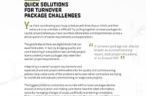 How to Tackle Your Turnover Package Challenges