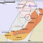 Tropical Cyclone Blake advances towards Western Australia