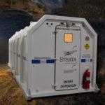 Strata launches newly-designed emergency refuge chamber