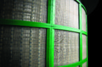 Derrick's G-Vault screens more durable than conventional methods