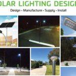 Commercial grade solar lighting for mining sites