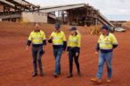 Fortescue kicks off first Eliwana iron ore processing