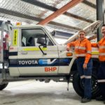 BHP trials Toyota EVs at Nickel West
