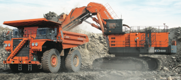 Hitachi electric drive hydraulic excavator2