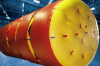 M2P inflatable overhead protection systems
