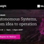 Webinar recording: Autonomous systems, from idea to operation