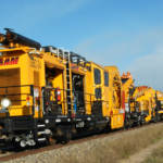 Industry workhorse in shoulder ballast maintenance