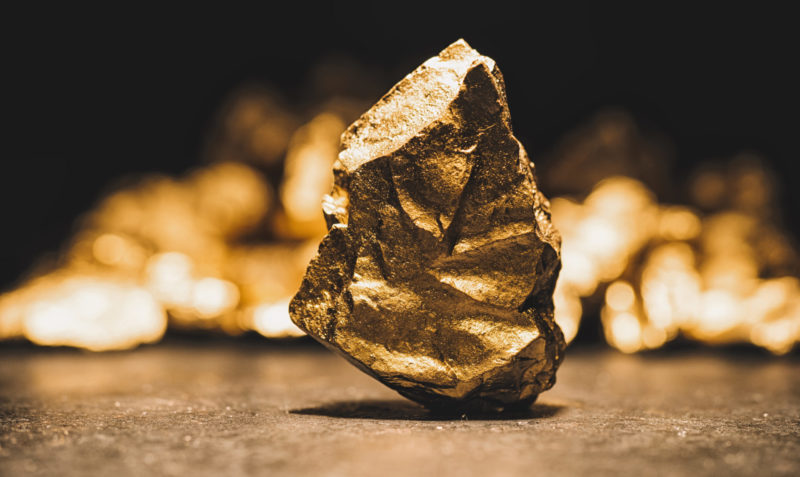 stock gold image