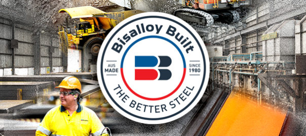 Bisalloy Built logo