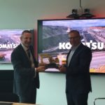 Komatsu amps up automation with Telstra partnership
