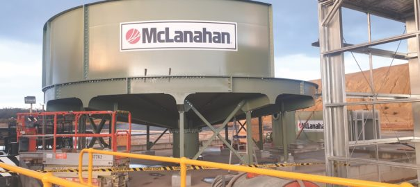 McLanahan 10m Elevated High Rate Thickener - assembly