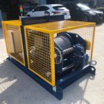 Top of the range electric winch