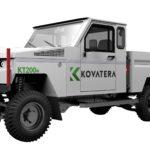 Drivetrain welcomes Kovatera's battery-electric vehicle to Australia