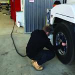 Alemlube hose reels present a safer option